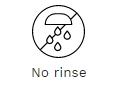 no-rinse