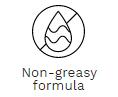 non-greasy